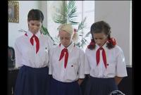 【SM洋物】女学校で勉強の出来が悪い女の子が校長室に呼ばれて罰の調教を受けるwwwwwww