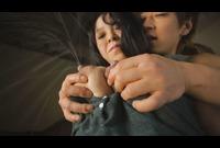 浅野しずく(110-J) 「インタビュー~揉み・初カラミ」 大量噴出! 爆乳Hカップ以上の母乳セックス