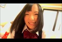 エロカワ制服娘♥指だけで何度もイキまくるオナニー【自画撮り】Vol.02